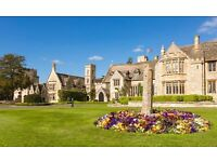 2 nights in high end cotswolds hotel - includes 3 course dinner for 2, breakfasts and picnic