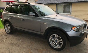 '04 BMW X3 93,000kms 3.0i V6 Manual