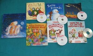 Christmas Book for the Primary/Jr reader some with CDs
