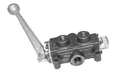 Cross Hydraulic Valve 3 Position 4 Way Single Spool Close Center No Relief Valve