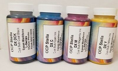 100ml Sublimation Refill Ink For Epsonricoh Compatible Refillable Cartridges