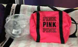 Victoria's Secret Love Pink Duffle Bag