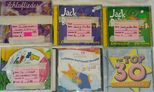 Selection of Kids / Childrens Music CD's / PC CD Roms
