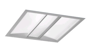 Phillips Ledalite vectra 2x2 ressesed light fixtures