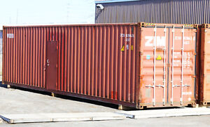 Winterized shipping containers, insulated Seacans