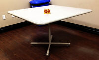 """Square heavy duty tables 48"""" x 48"""""""
