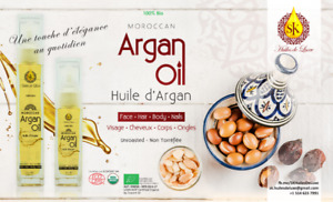 100% pure and organic Moroccan Argan oil, excellent quality
