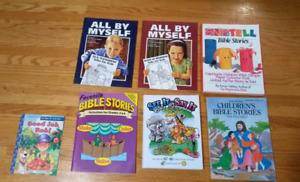 Catholic, Christian, Mormon Colouring and Workbook