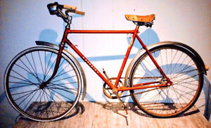 c.1949 NEW HUDSON Men's CRUISER Bike Bicycle Red FREE DELIVERY