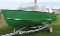 REDUCED  MOVING REDUCED  MUST SELL, 14 FOOT LUND MOTOR BOAT,