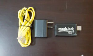Barely used Magic Jack Plus VoIP Phone