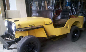 WILLYS (jeep) 1949 - Fonctionnel