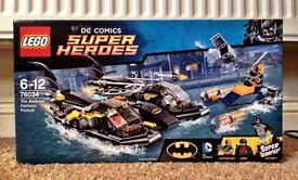 Lego Batman Harbour Pursuit New