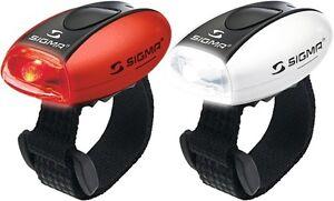 SIGMA LED SET Lampe MICRO Fahrradlicht Set Personenbeleuchtung
