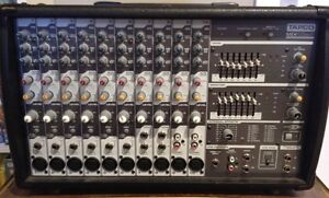 Tapco MIX10FXP, 10 Channel Powered Mixer