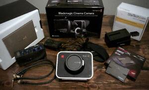 Blackmagic 2.5K EF Mount Cinema Camera Package