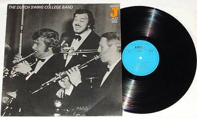 THE DUTCH SWING COLLEGE BAND LP Vinyl AMIGA Jazz 1976 * TOP