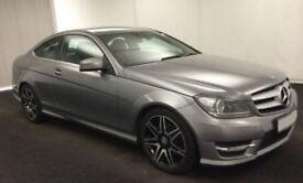 2012 MERCEDES C220 CDI AMG SPORT GOOD / BAD CREDIT CAR FINANCE AVAILABLE