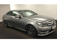 2012 MERCEDES C220 CDI AMG SPORT GOOD / BAD CREDIT CAR FINANCE AVAILABLE