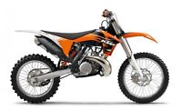 Wanted ISO 2011 Ktm 250 sx.