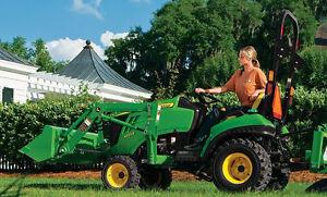 Wanted Small Kubota/ John Deere/ Kioti  tractor with backhoe