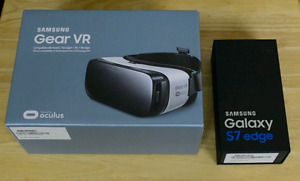 Brand new Samsung galaxy s7 and VR Included