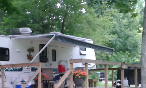 Trailer Awning and Hardware