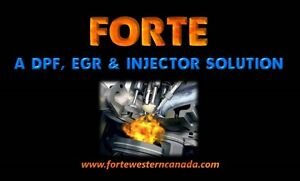 A DPF, EGR & Injector Solution