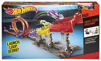 NEW: Hot Wheels Super Score Speed Way Track Set, Multi Color
