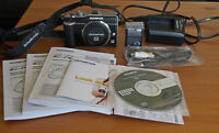 Olympus E-PL1 body with many accessories