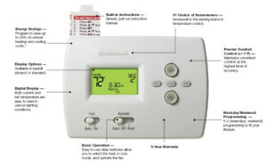 Brand New In the Box Honeywell PRO 4000 Programmable Thermostat