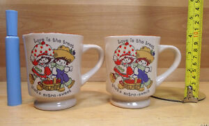 2 tasses de Fraisinette année 1980