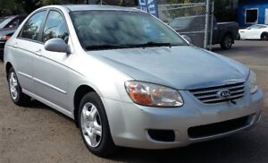 2007 Kia Spectra - CLEAN and Low KM - Reliable Winter Car