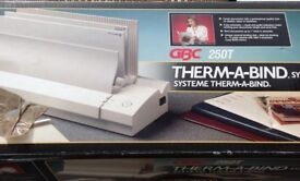 Therm-A-Bind system 250T
