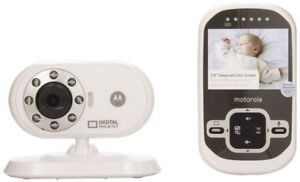 Motorola Video Baby Monitor with Infared Night Vision, 2.4 Inch