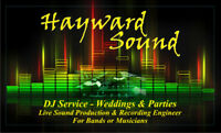 DJ Services or Live Soundman - HAYWARD SOUND