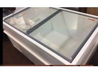 White Medium Sized Chest Freezer