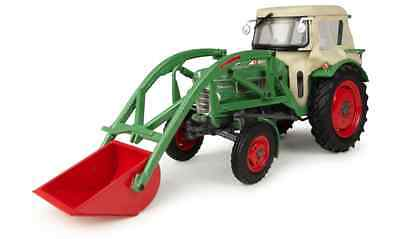 Universal hobbies 1/32 Scale Fendt Farmer 2 with Front Loader and Cab *NEW* 4946