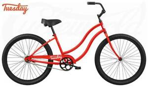 Tuesday Cycles May 1 Low-Step (Red/White) 2019 rrp$349 Concord West Canada Bay Area Preview