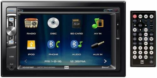 "Dual Electronics XDVD276BT 6.2"" Touchscreen 2-DIN Car Stereo DVD Receiver"