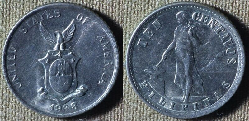Philippines : 1938M 10 Ct BU  # 181  IR5050