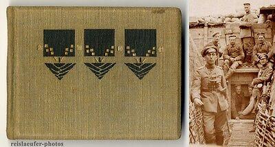 1. Weltkrieg, kleines Photoalbum mit 20 Original-Photographien um 1916