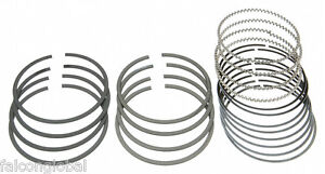 Ford Mercury 239 255 Flathead V8 Cast Piston Ring Set 1949 1950 1951 1952 1953