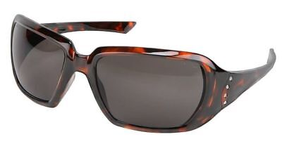 Crews 2 Women's Safety Glasses Sunglasses Tortoise Frame Gray (Women's Safety Sunglasses)