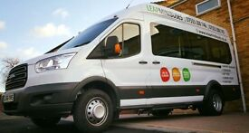 CHEAP MINIBUS HIRE & DRIVER, VERY RELIABLE COMPANY, FRIENDLY SERVICE, QUICK QUOTES.