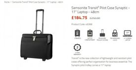 Samsonite transit 2 Brief case business case laptop case