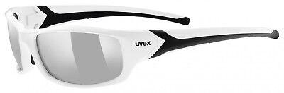 Uvex Sportstyle 211 Sportbrille Sonnenbrille - white black