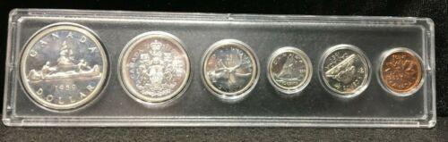1959 Proof Like Canadian Mint Set 80% Silver