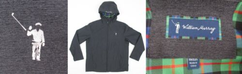 William Murray Downpour Jacket Charcoal Size Medium Mint Condition!