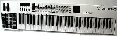 M-Audio Code 61 MIDI Controller Keyboard (White) with X/Y Pad  #R6438